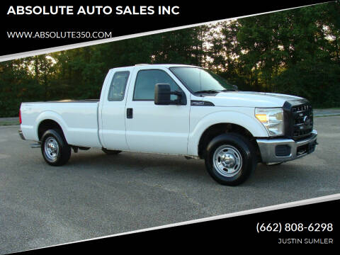 2012 Ford F-250 Super Duty for sale at ABSOLUTE AUTO SALES INC in Corinth MS