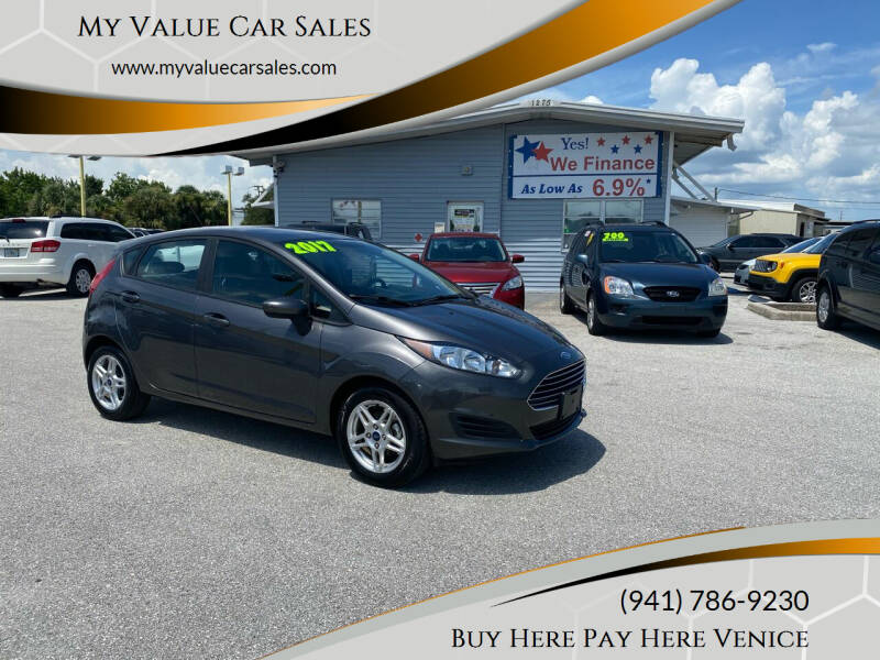 2017 Ford Fiesta for sale at My Value Car Sales - Upcoming Cars in Venice FL