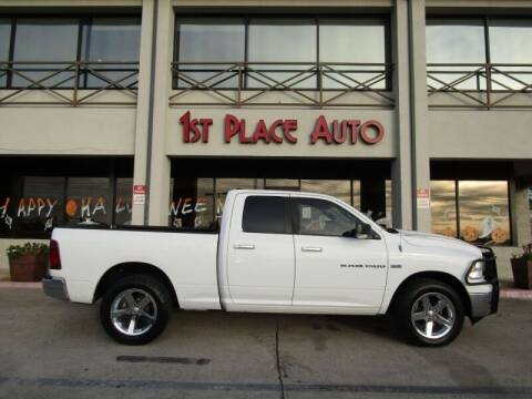 2011 RAM Ram Pickup 1500 for sale at First Place Auto Ctr Inc in Watauga TX