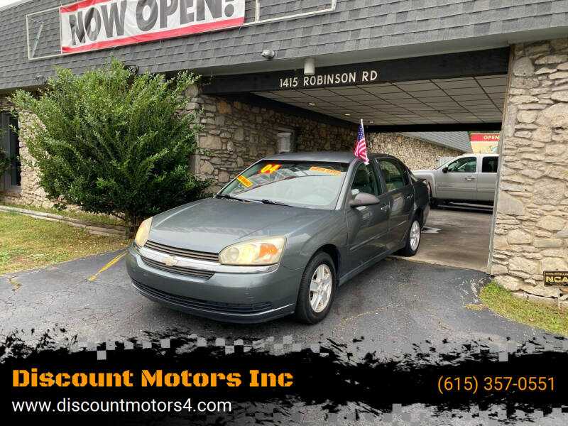 2004 Chevrolet Malibu for sale at Discount Motors Inc in Old Hickory TN