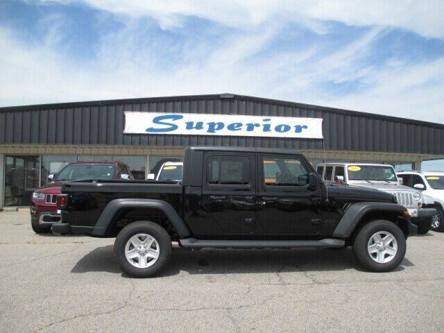 2020 Jeep Gladiator for sale at SUPERIOR CHRYSLER DODGE JEEP RAM FIAT in Henderson NC
