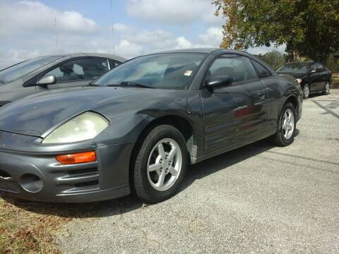2003 Mitsubishi Eclipse for sale at John 3:16 Motors in San Antonio TX
