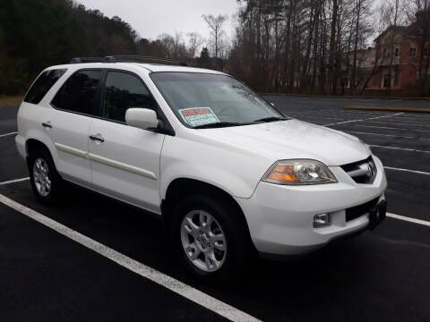 2006 Acura MDX for sale at JCW AUTO BROKERS in Douglasville GA