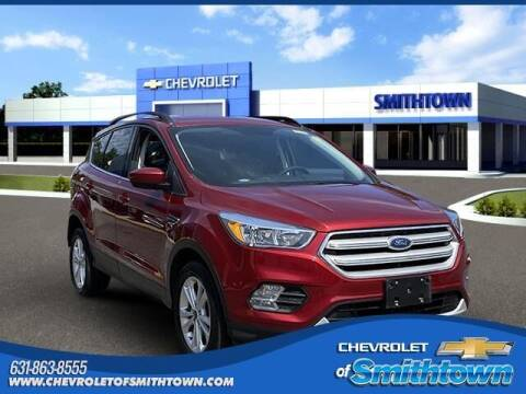 2018 Ford Escape for sale at CHEVROLET OF SMITHTOWN in Saint James NY
