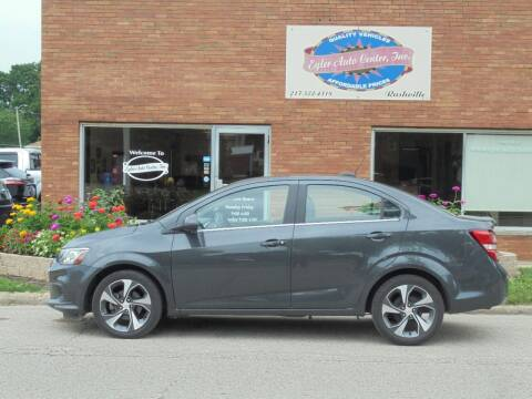 2020 Chevrolet Sonic for sale at Eyler Auto Center Inc. in Rushville IL