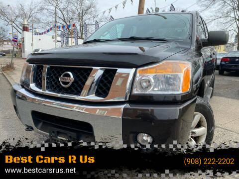 2014 Nissan Titan for sale at Best Cars R Us in Plainfield NJ
