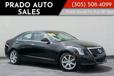 2014 Cadillac ATS for sale at Prado Auto Sales in Miami FL