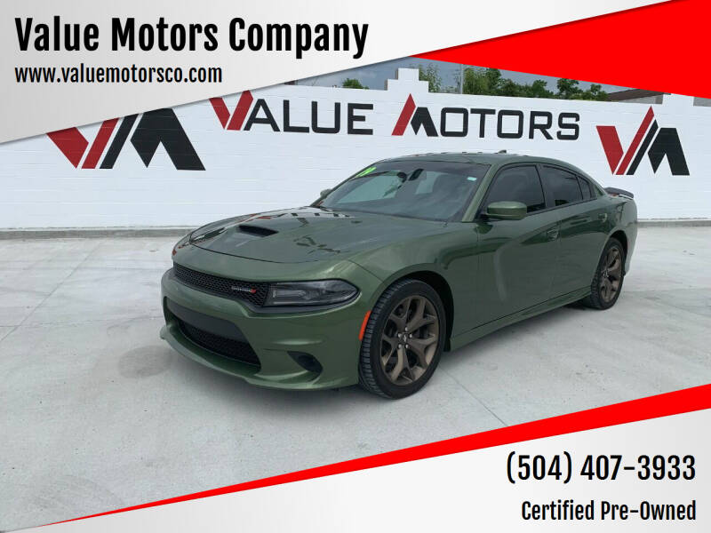 2019 Dodge Charger for sale at Value Motors Company in Marrero LA