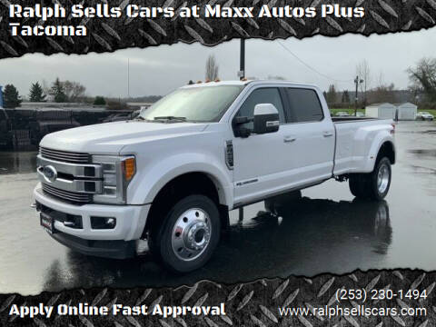 2019 Ford F-450 Super Duty for sale at Ralph Sells Cars at Maxx Autos Plus Tacoma in Tacoma WA