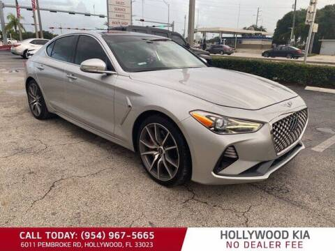 2019 Genesis G70 for sale at JumboAutoGroup.com in Hollywood FL