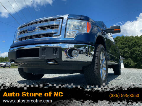 2013 Ford F-150 for sale at Auto Store of NC in Walkertown NC
