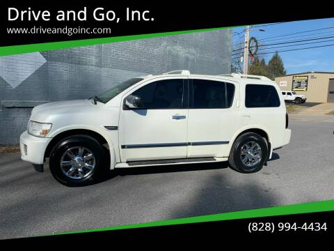 2007 Infiniti QX56 for sale at Drive and Go, Inc. in Hickory NC