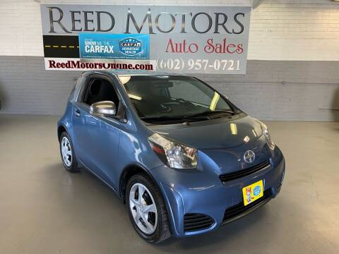 2012 Scion iQ for sale at REED MOTORS LLC in Phoenix AZ
