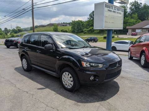 2010 Mitsubishi Outlander for sale at Route 22 Autos in Zanesville OH