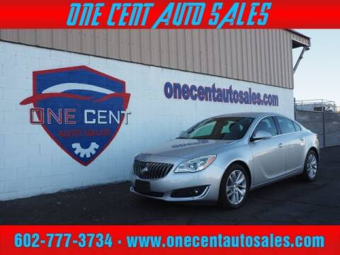 2016 Buick Regal for sale at One Cent Auto Sales in Glendale AZ
