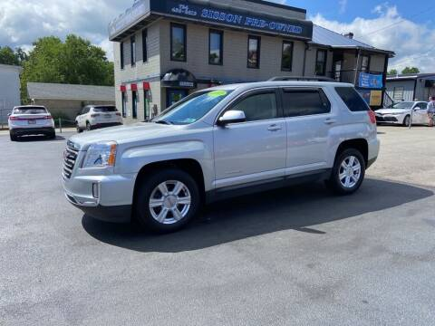 2016 GMC Terrain for sale at Sisson Pre-Owned in Uniontown PA