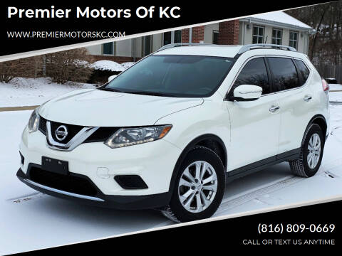 2015 Nissan Rogue for sale at Premier Motors of KC in Kansas City MO