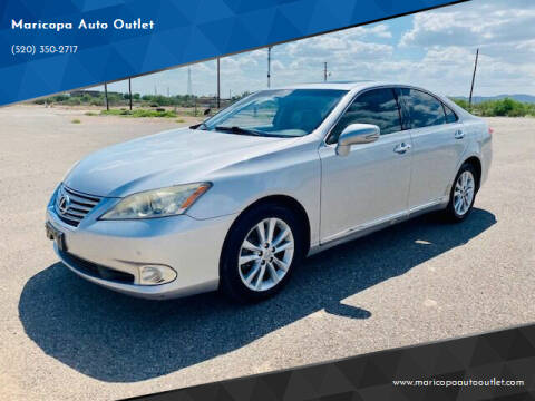2010 Lexus ES 350 for sale at Maricopa Auto Outlet in Maricopa AZ