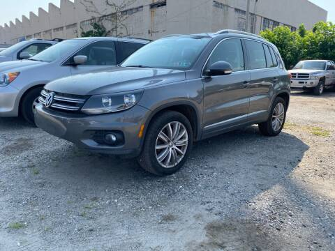 2012 Volkswagen Tiguan for sale at Philadelphia Public Auto Auction in Philadelphia PA