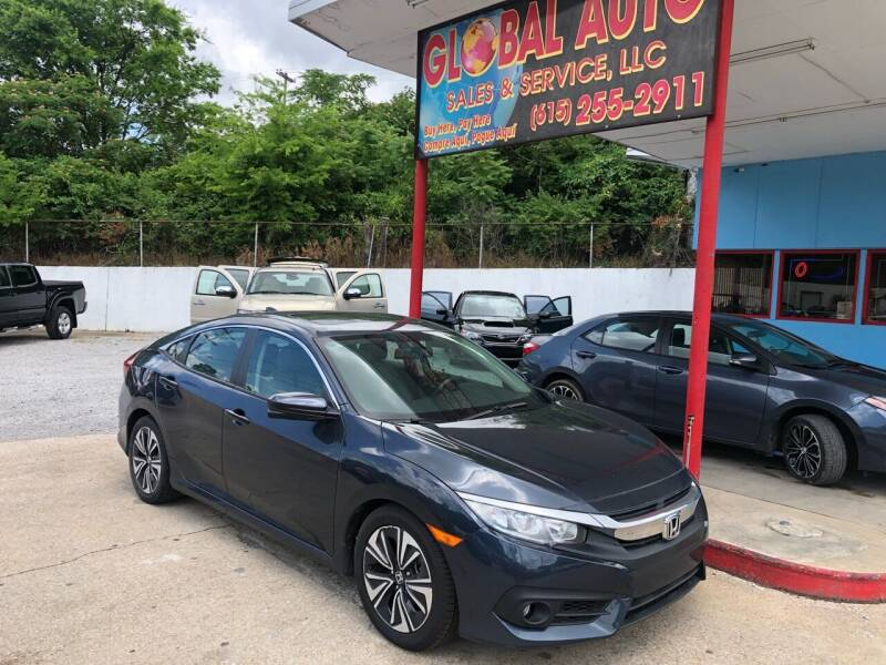 2017 Honda Civic for sale at Global Auto Sales and Service in Nashville TN