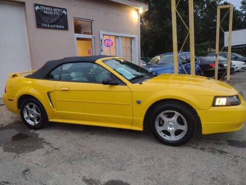 2004 Ford Mustang for sale at Sparks Auto Sales Etc in Alexis NC