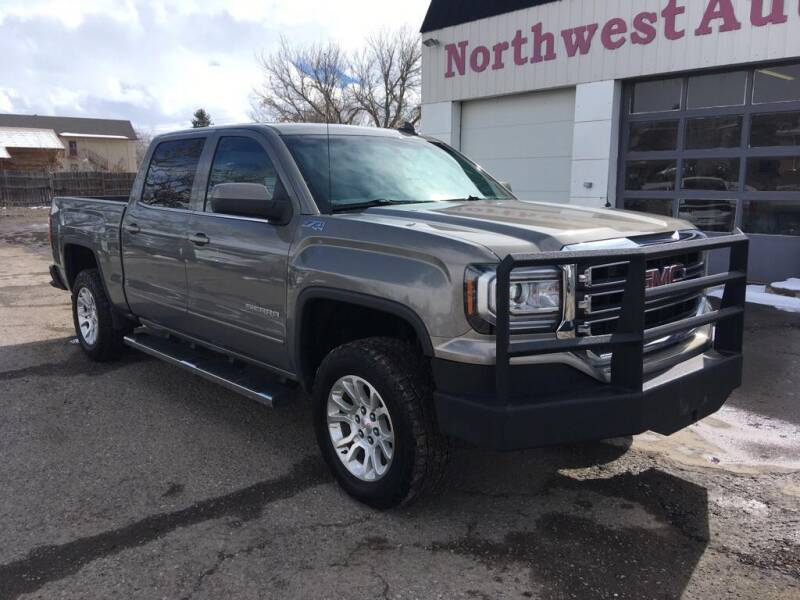 2017 GMC Sierra 1500 for sale at Northwest Auto Sales & Service Inc. in Meeker CO