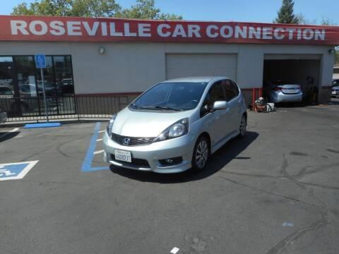 2012 Honda Fit for sale at ROSEVILLE CAR CONNECTION in Roseville CA