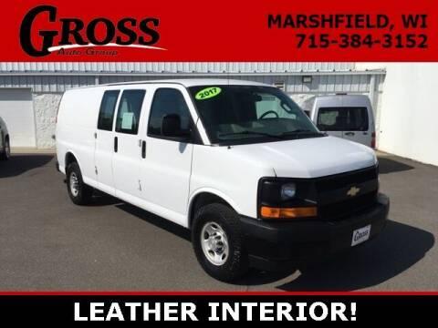 2017 Chevrolet Express Cargo for sale at Gross Motors of Marshfield in Marshfield WI