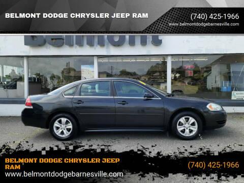 2012 Chevrolet Impala for sale at BELMONT DODGE CHRYSLER JEEP RAM in Barnesville OH