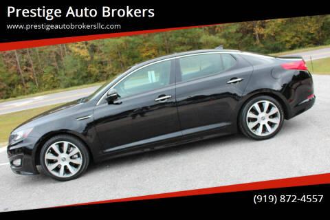 2013 Kia Optima for sale at Prestige Auto Brokers in Raleigh NC