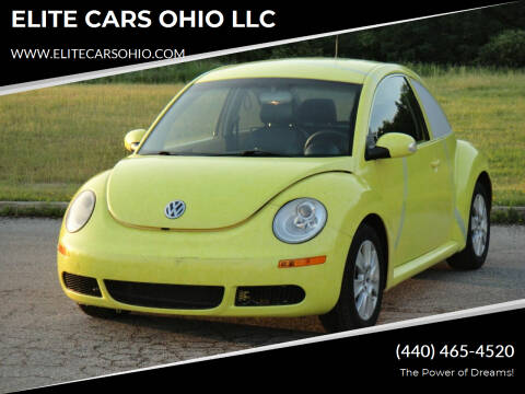 2008 Volkswagen New Beetle for sale at ELITE CARS OHIO LLC in Solon OH
