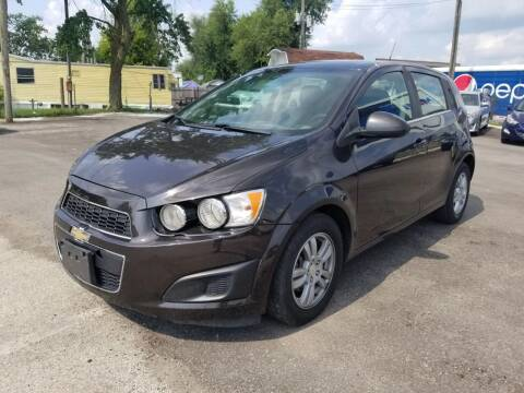 2014 Chevrolet Sonic for sale at Nonstop Motors in Indianapolis IN