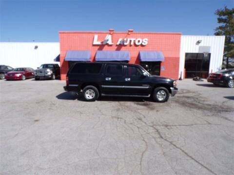 2001 GMC Yukon XL for sale at L A AUTOS in Omaha NE