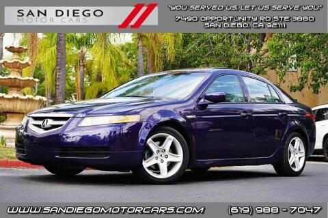2006 Acura TL for sale at San Diego Motor Cars LLC in San Diego CA