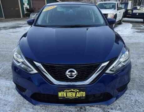 2019 Nissan Sentra for sale at MOUNTAIN VIEW AUTO in Lyndonville VT
