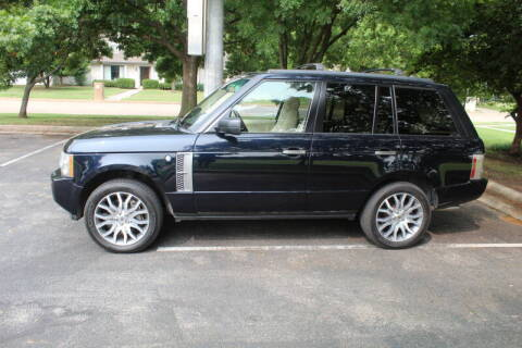 2009 Land Rover Range Rover for sale at CANTWEIGHT CLASSICS in Maysville OK