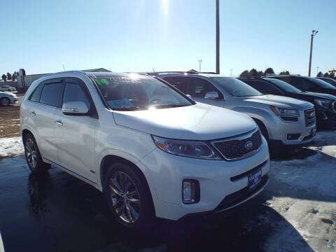 2014 Kia Sorento for sale at G & K Supreme in Canton SD