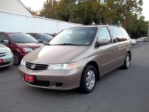 2003 Honda Odyssey for sale at 1st Choice Auto Sales in Fairfax VA