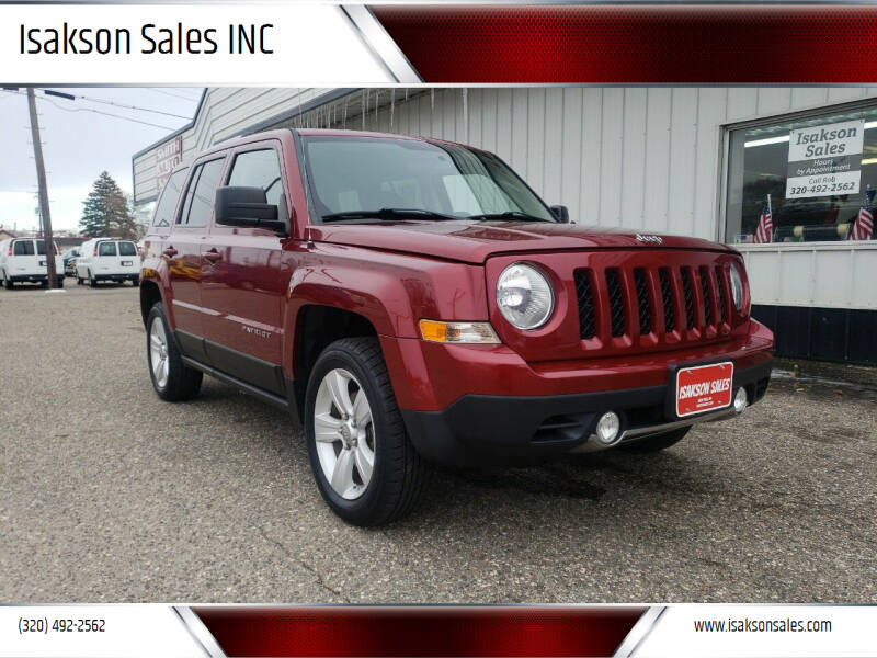 2011 Jeep Patriot for sale at Isakson Sales INC in Waite Park MN