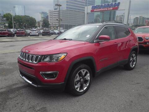 2017 Jeep Compass for sale at BEAMAN TOYOTA GMC BUICK in Nashville TN