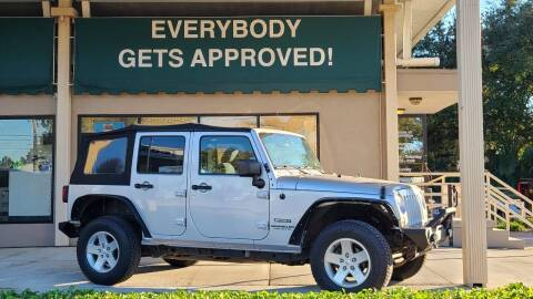 2011 Jeep Wrangler Unlimited for sale at Dunn-Rite Auto Group in Longwood FL