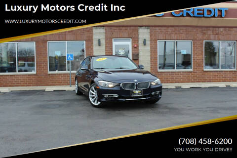 2012 BMW 3 Series for sale at Luxury Motors Credit Inc in Bridgeview IL