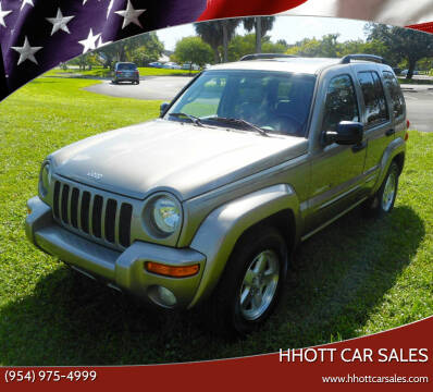2003 Jeep Liberty for sale at HHOTT CAR SALES in Deerfield Beach FL