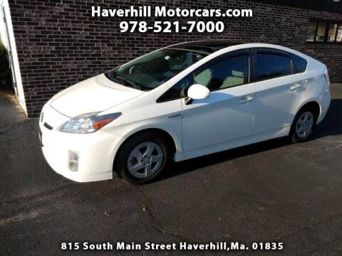 2010 Toyota Prius for sale at 125 Auto Finance in Haverhill MA