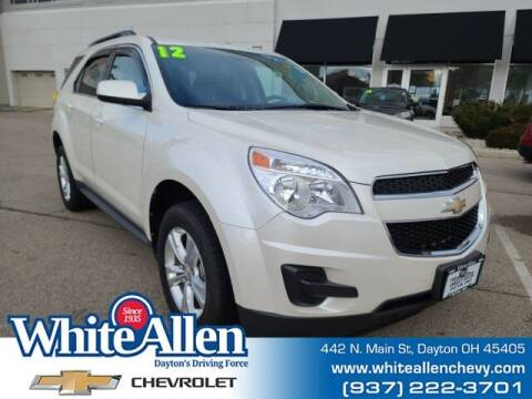 2012 Chevrolet Equinox for sale at WHITE-ALLEN CHEVROLET in Dayton OH