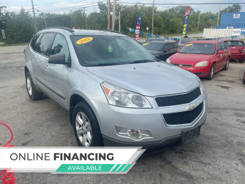 2012 Chevrolet Traverse for sale at I57 Group Auto Sales in Country Club Hills IL