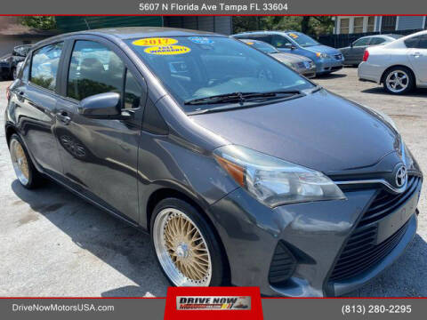 2017 Toyota Yaris for sale at Drive Now Motors USA in Tampa FL
