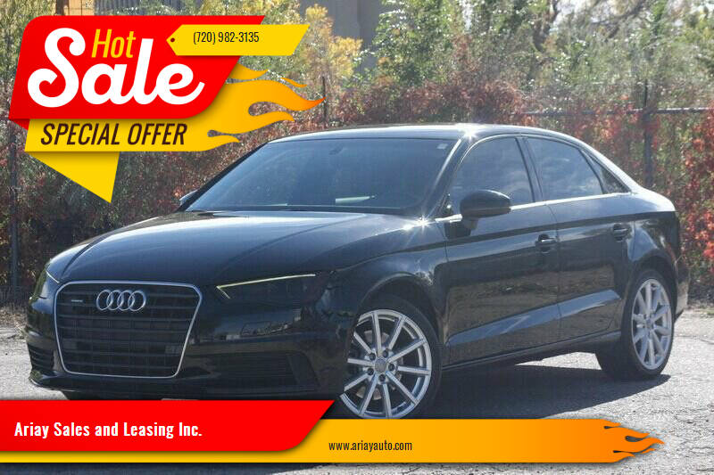 2016 Audi A3 for sale at Ariay Sales and Leasing Inc. in Denver CO