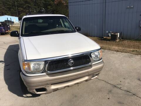 2000 Mercury Mountaineer for sale at Elite Motor Brokers in Austell GA