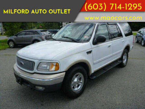 1999 Ford Expedition for sale at Milford Auto Outlet in Milford NH